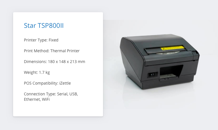 Ultimate iZettle Receipt Printer Comparison: Which printer