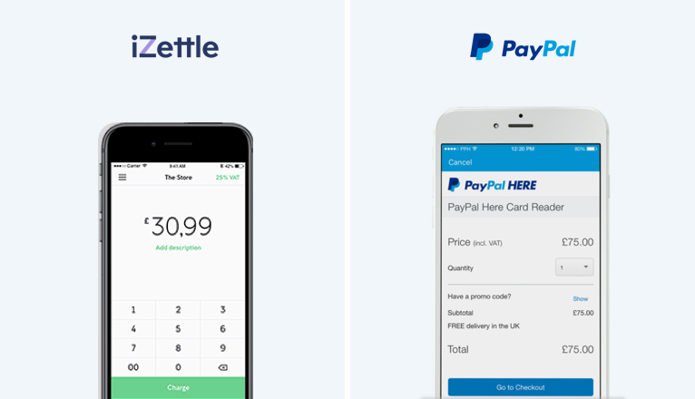 Which POS app is better? iZettle or PayPal Here?