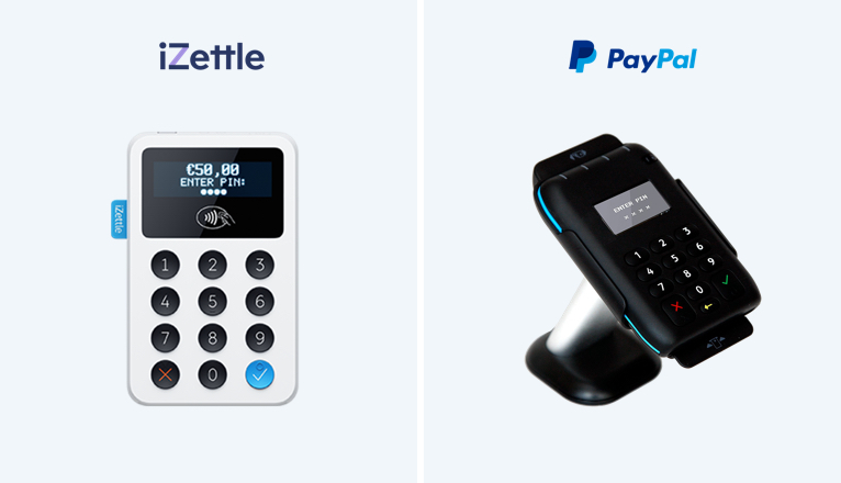 2019 iZettle vs PayPal Here: Which one should I use?