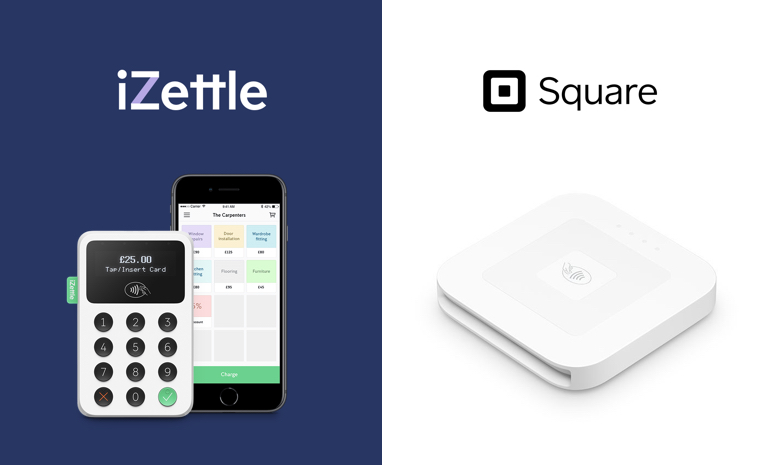 2019 iZettle vs Square: Which one should I use?